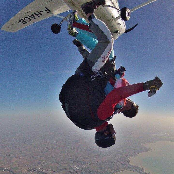 Altitude Parachutisme - Saut en parachute tandem