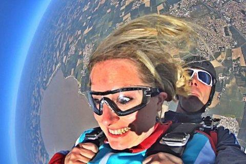 Saut en parachute Tandem : Un maximum de sensations
